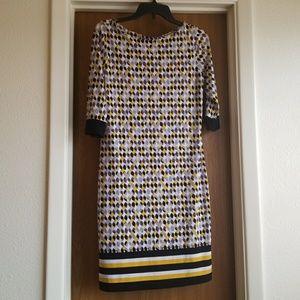 Patterned Liz Claiborne Dress